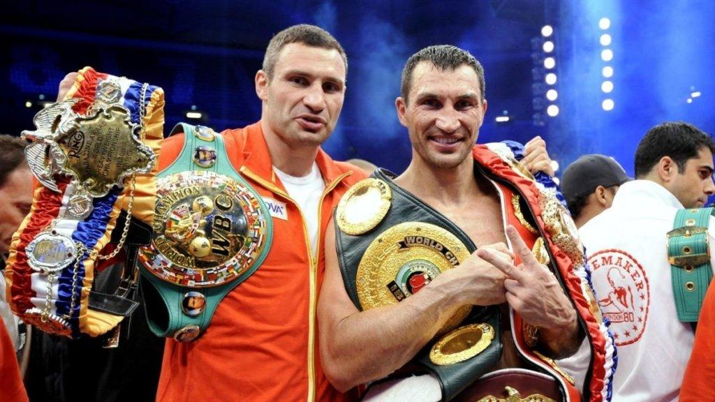 Брати Клички стали кращими боксерами ХХI століття