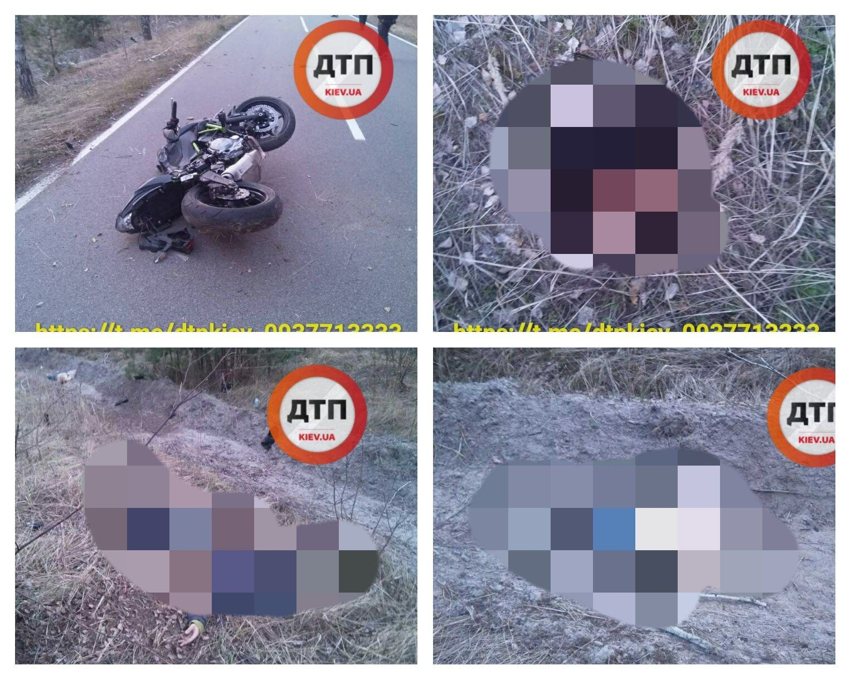 Под Киевом произошло смертельное ДТП с мотоциклом: подробности и фото