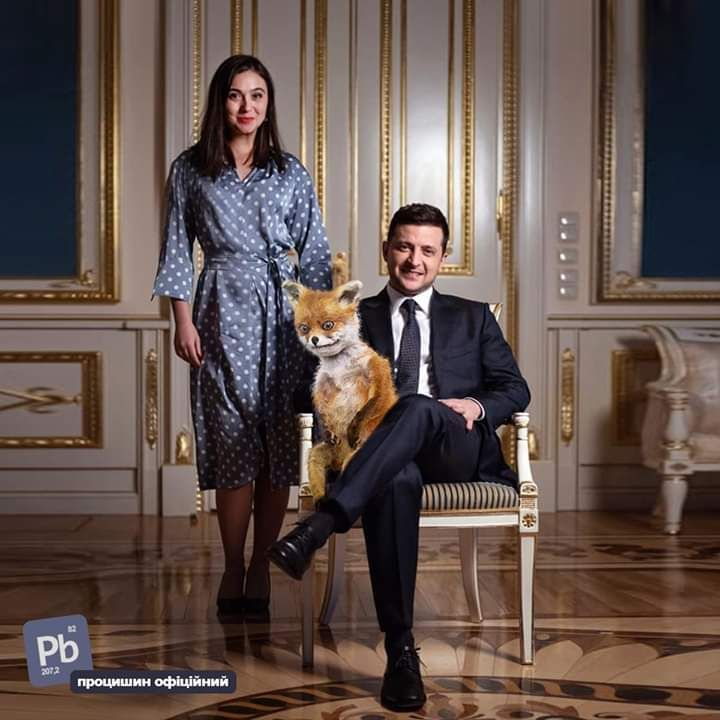 В мережі висміяли фото Зеленського з Мендель для відомого журналу