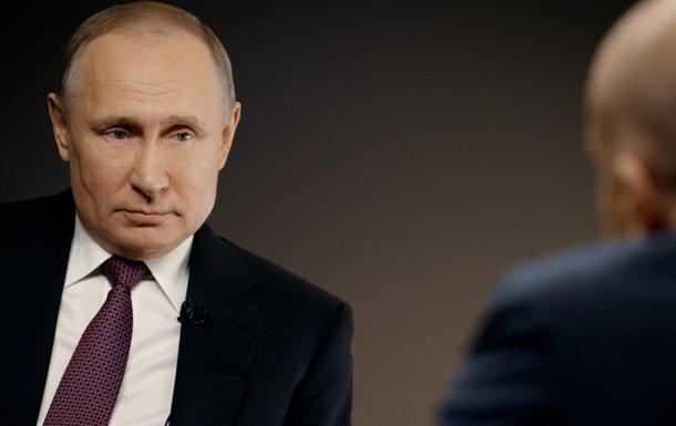 Путін заявив, що РФ втратила 50 мільярдів через Україну