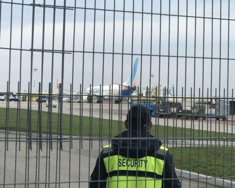 В «Борисполь» прибыл самолет с «подозреваемым» на коронавирус