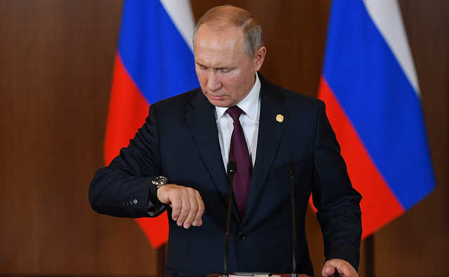 Маячня: Путін істерично відреагував на заяву Зеленського про звільнення Освенцима