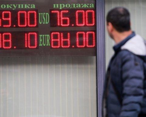 У Росії рекордно обвалився курс рубля: графік ціни