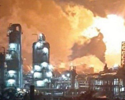В Южной Корее прогремел взрыв на химическом заводе, много пострадавших
