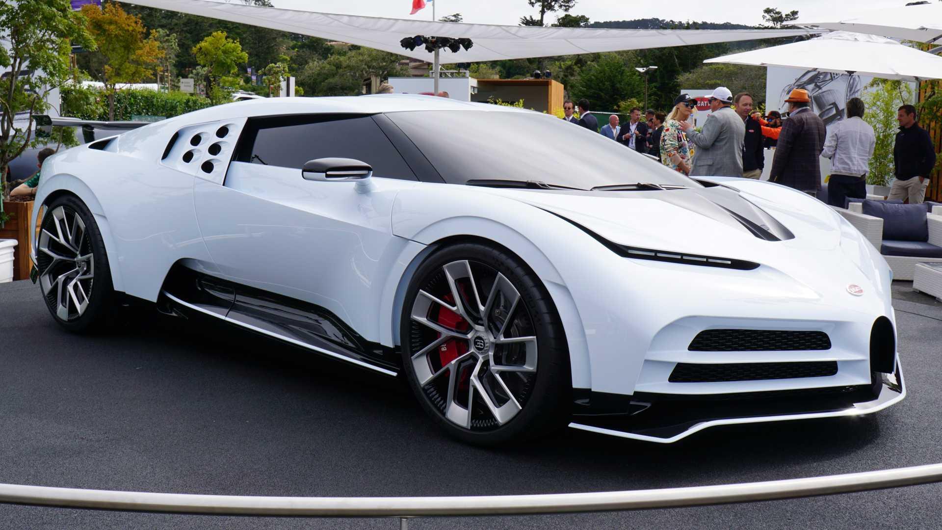 Роналду купив за 10 мільйонів лімітований гіперкар Bugatti