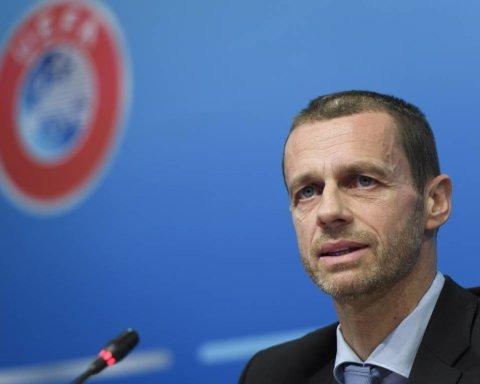 Президент УЕФА озвучил три плана завершения этого сезона