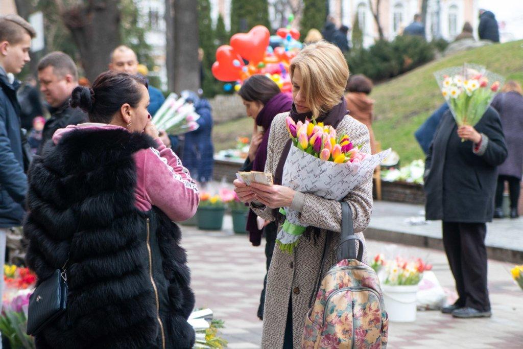 8 березня у Києві: скільки доведеться заплатити за квіти
