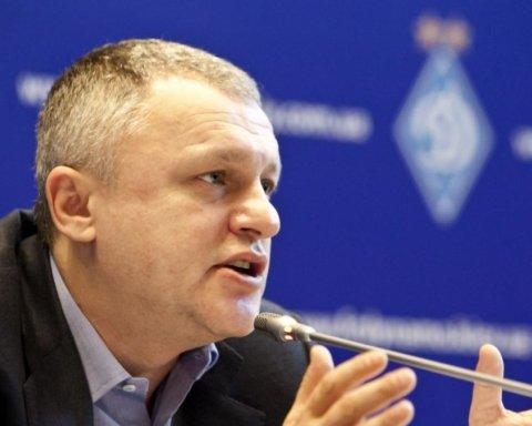 Суркіс розкритикував суддівство по відношенню до Динамо