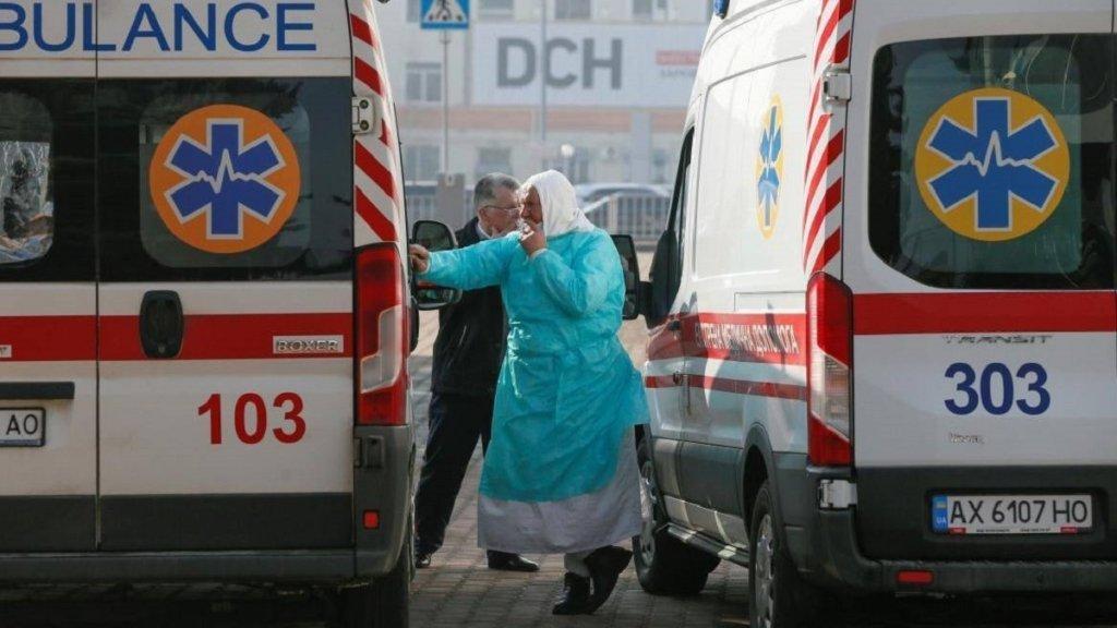 В лікарнях України кожен п'ятий пацієнт інфікований COVID-19