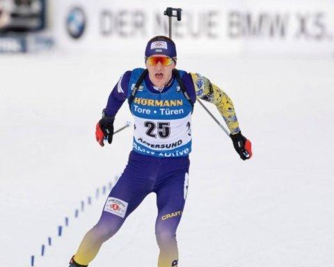 Украинец Пидручный финишировал четвертым в масс-старте
