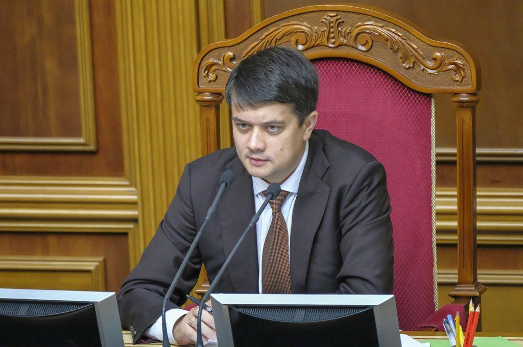 Дмитро Разумков заявив, що санкції проти каналів Медведчука – це погано
