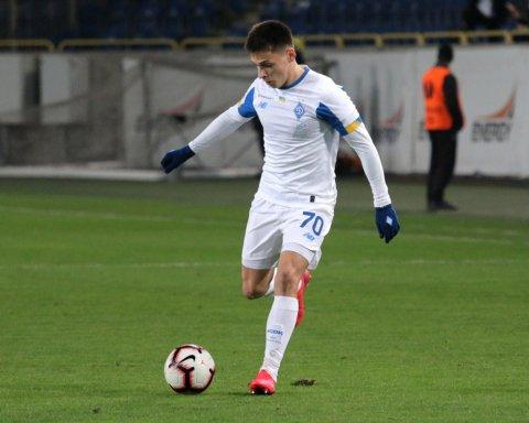 Русин підписав новий контракт з Динамо