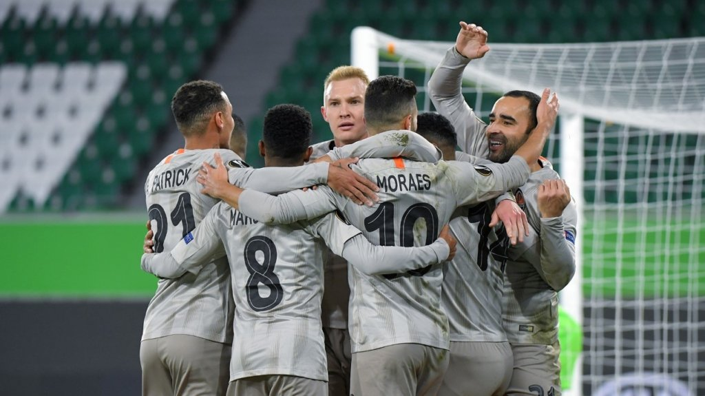 Шахтар виграв у Вольфсбурга в першому матчі 1/8 фіналу Ліги Європи
