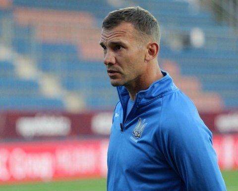 Шевченко назвал список игроков на матчи с Францией и Польшей