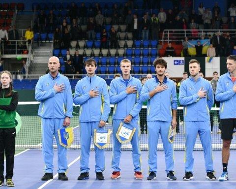 Сборная Украины с ярким камбэком победила Китайский Тайбэй на Кубке Дэвиса