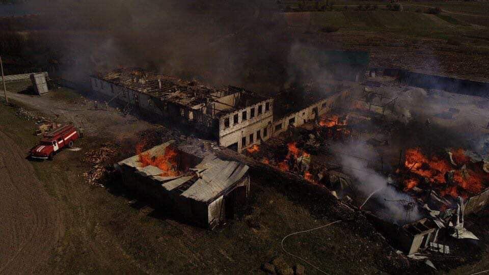 В Одесі підпалили чоловічий монастир: усі подробиці та кадри з місця НП