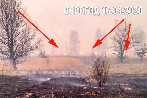 У Чорнобилі знову спалахнула пожежа: перші подробиці та фото