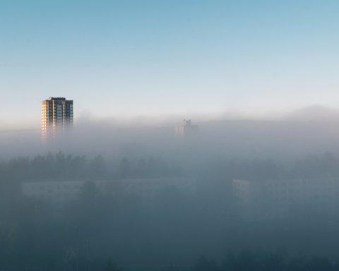 Киев снова стал мировым лидером по уровню загрязнения воздуха
