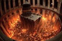 В Храмі Гробу Господня розпочалася церемонія сходження Благодатного вогню