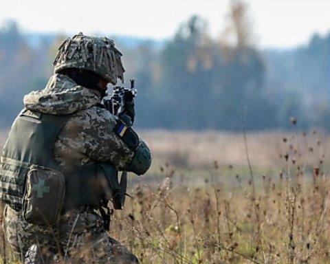 Боевики на Донбассе ранили украинского бойца