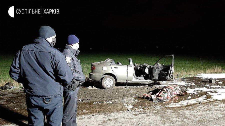 """У Харкові """"швидка"""" потрапила в ДТП, є загиблі і багато травмованих"""