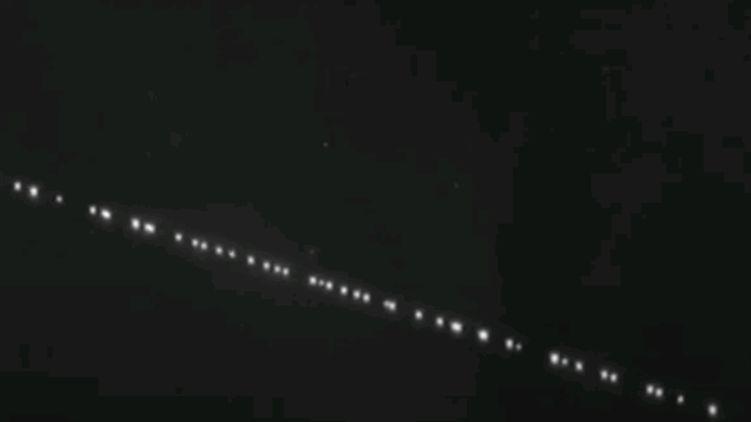 Об'єкти, що світилися в нічному небі над Києвом налякали мешканців