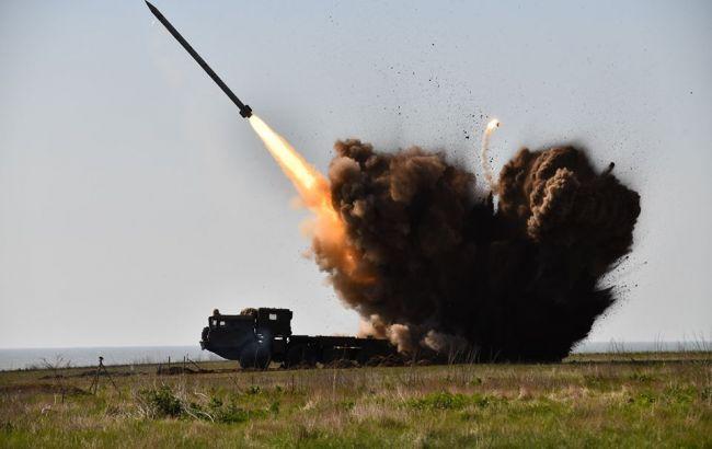 """В Одеській області провели успішні випробування ракети """"Вільха-М"""""""