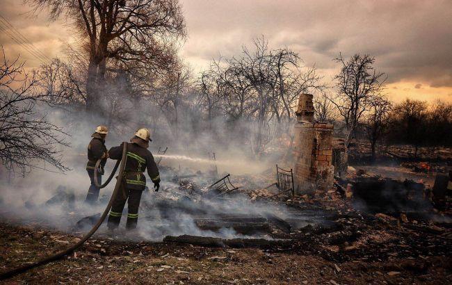У МВС назвали «можливою диверсією» пожежі в Чорнобильській зоні та Житомирській області
