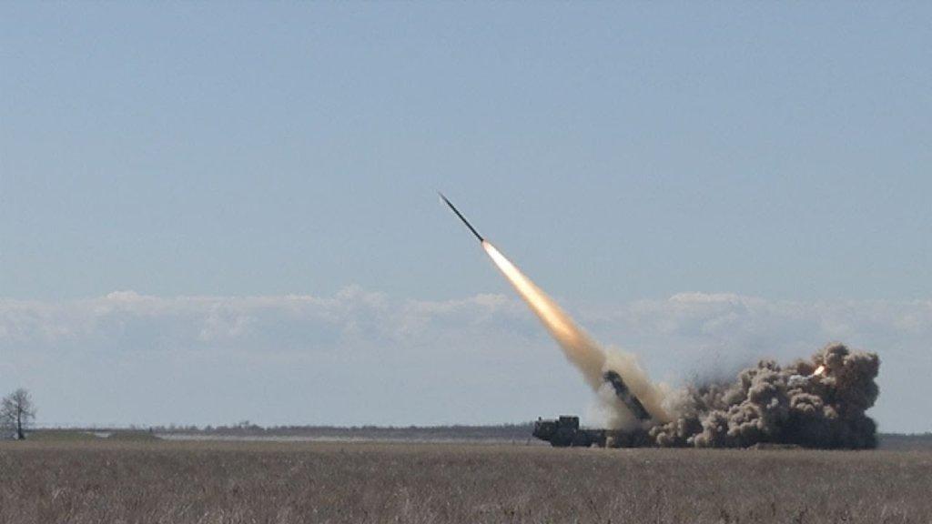 В Україні успішно випробували унікальну ракету,  яка вражає ціль на відстані 120 км