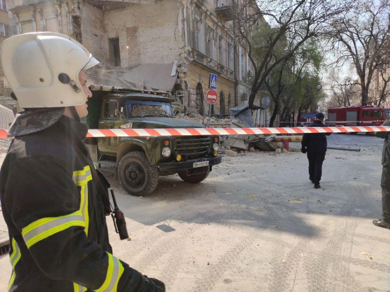 У центрі Одеси обвалився пам'ятник архітектури: перші фото з місця НП