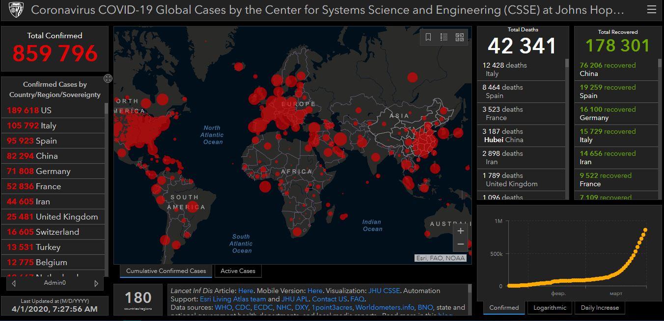 Коронавирус: Франция уже обогнала Китай по смертности