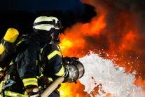 У Запоріжжі горить взуттєва фабрика Mida