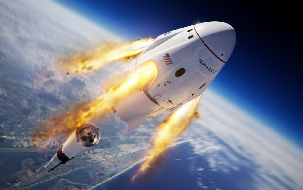 Мережа вибухнула мемами після успішного запуску CrewDragon