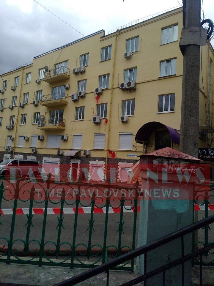 У офиса Медведчука в Киеве прогремел взрыв: что известно