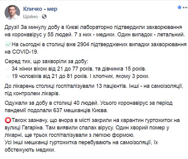 В Киеве новая вспышка коронавируса:  на карантин закрыли общежитие
