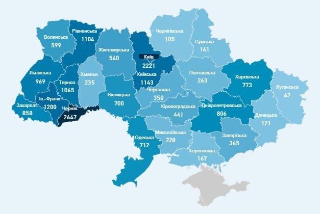 Коронавирус в Украине: количество зараженных резко возросло