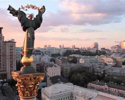 В подземном переходе под Майданом Незалежности в Киеве рухнул потолок