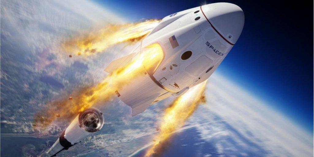 Історичний запуск SpaceX Crew Dragon: онлайн-трансляція