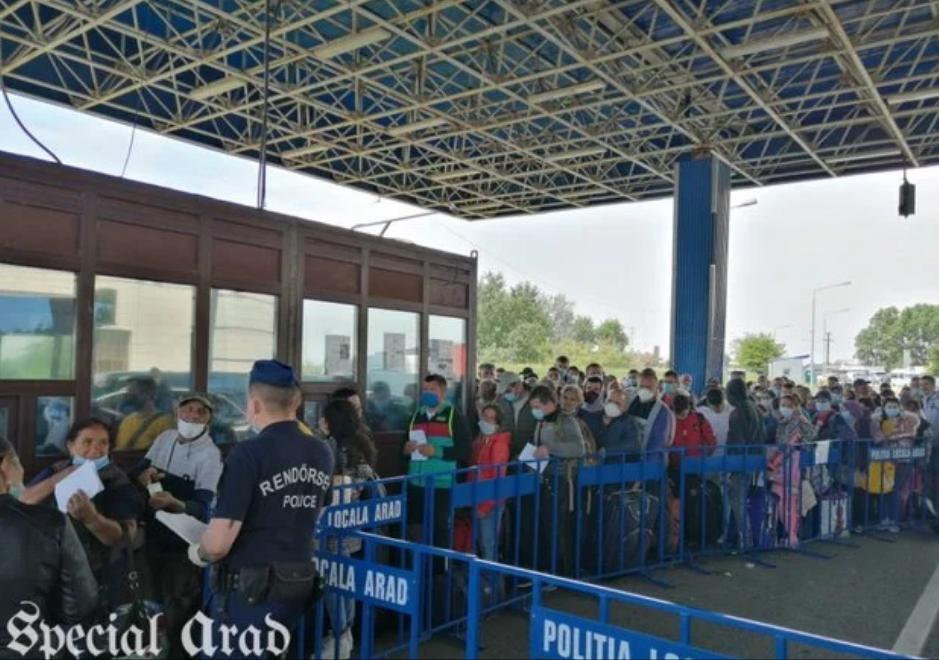 В Румунії утворилися гігантські черги на кордоні після ослаблення карантину