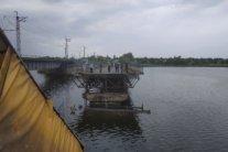Под Никополем рухнул 120-метровый мост: все подробности и фото с места  ЧП