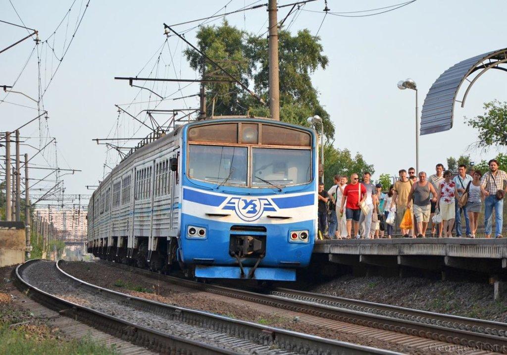 Городская электричка в Киеве начнет работать 1 июня