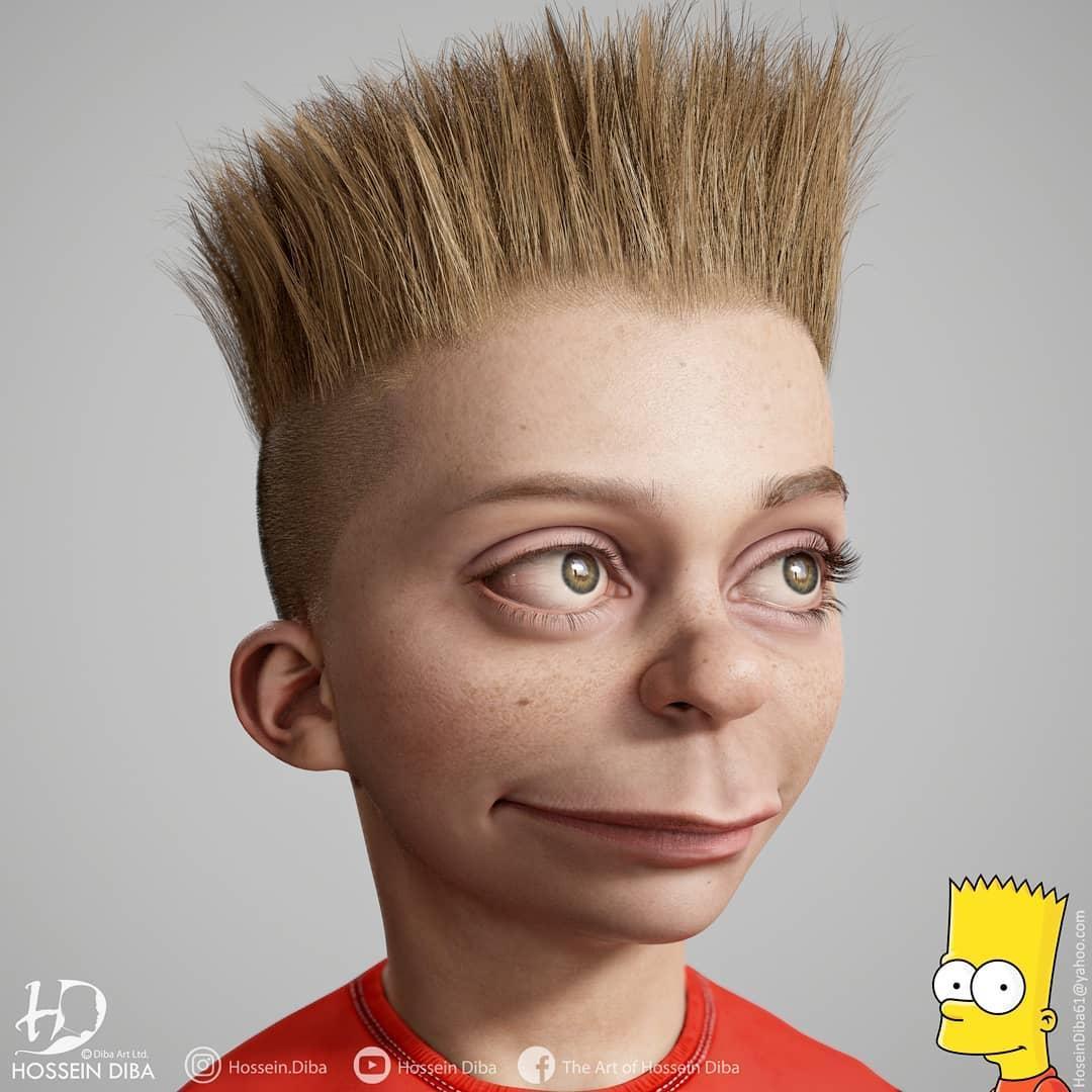 Художник переніс героїв Simpsons у реальне життя: кумедні фото