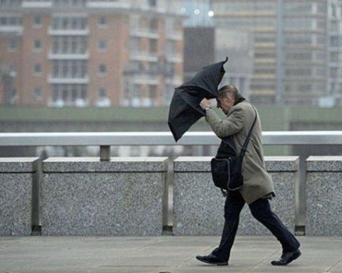 На Киев надвигается ураган: синоптики сделали штормовое предупреждение