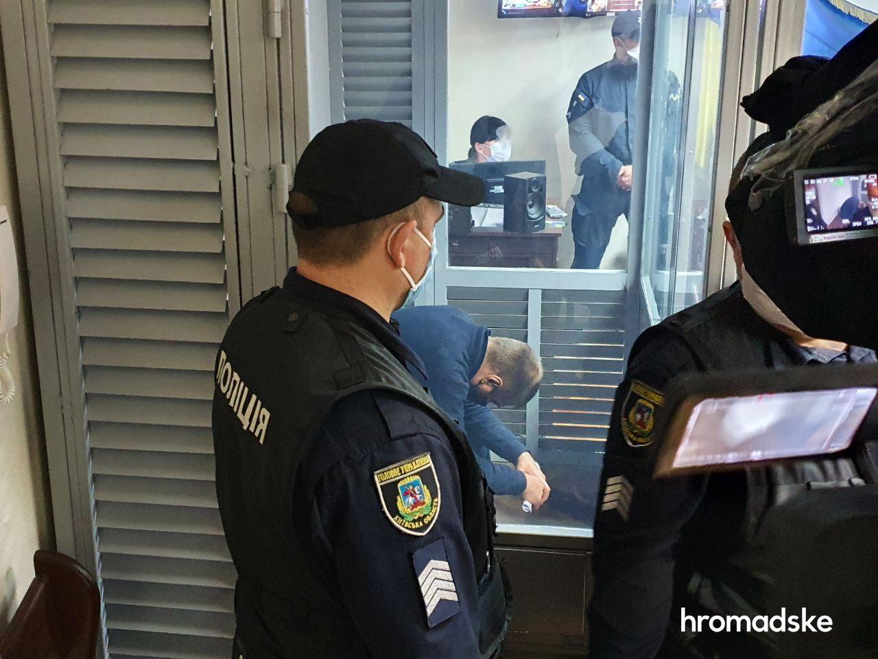 Подозреваемого в изнасиловании полицейского из Кагарлыка арестовали на два месяца