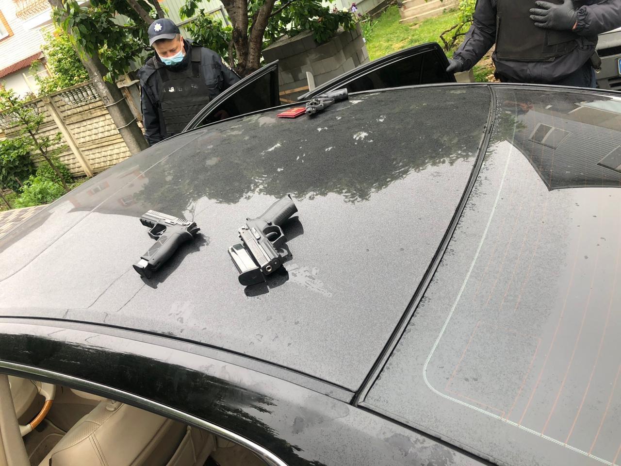 Разборки в Броварах: водители маршруток делят территорию