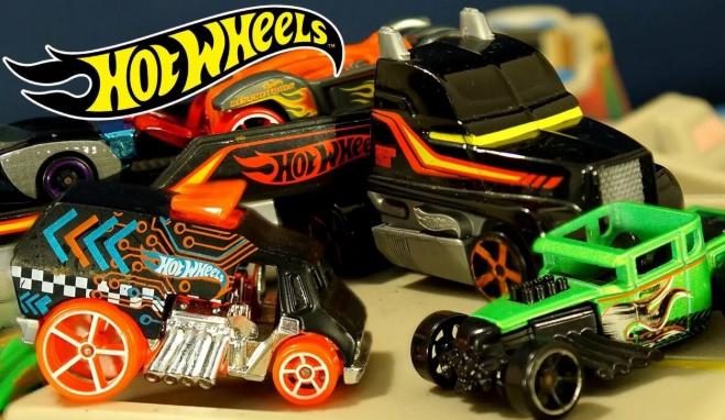 Hot Wheels: захватывающие треки и машинки