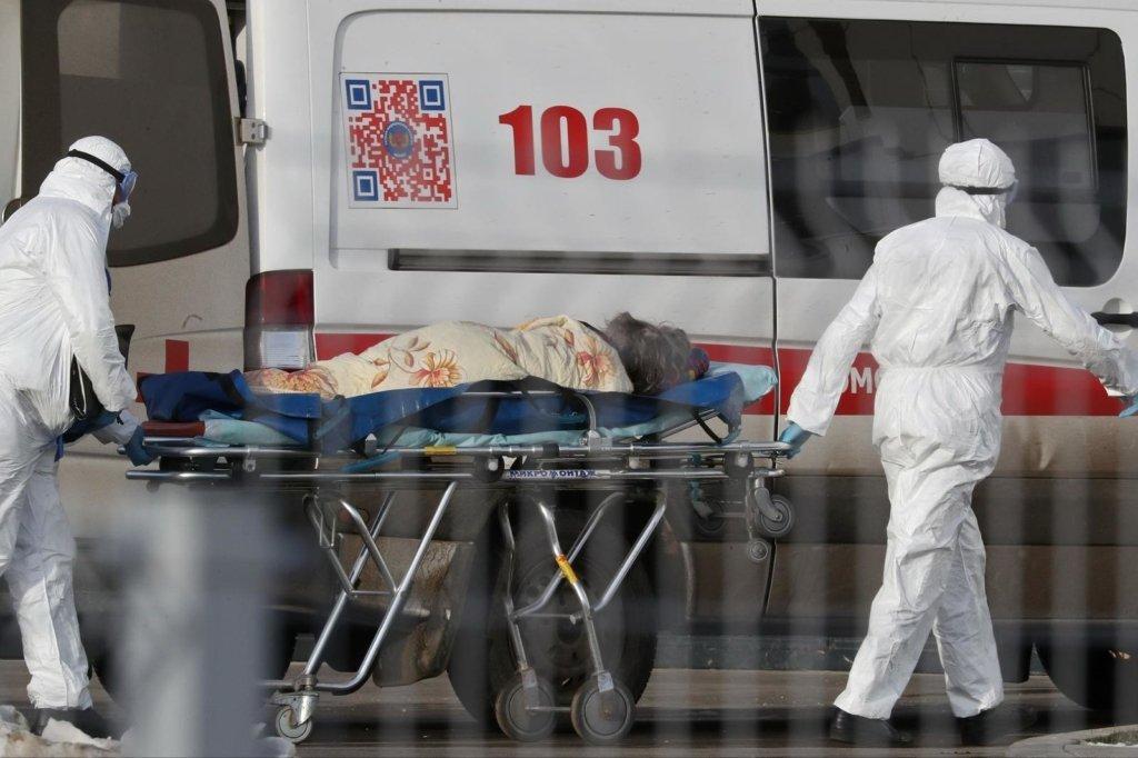 У Росії 350 тисяч людей заразилися коронавірусом, померли майже чотири тисячі
