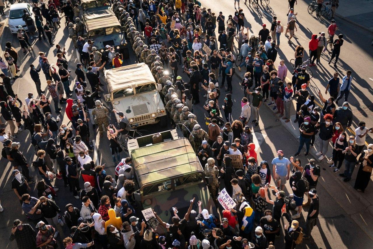 25 міст у США ввели комендантську годину через масові протести