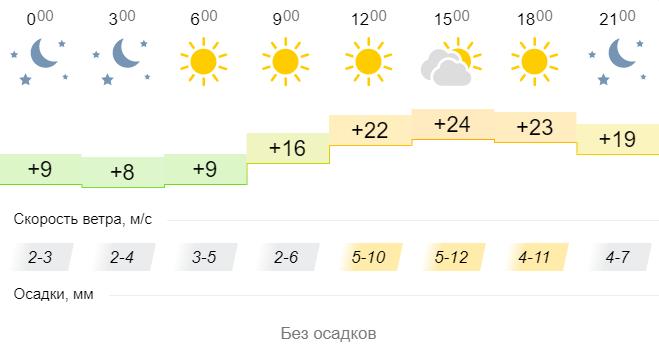 Тепло повернулося: яка погода чекає українців на день Перемоги