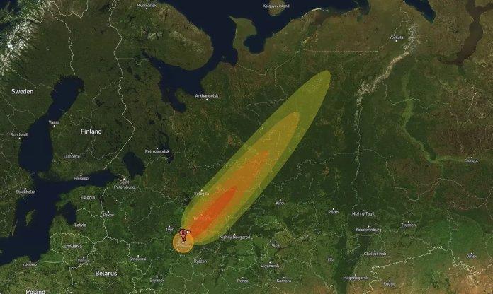 """На Москву """"скинули"""" ядерну бомбу: шокуючі наслідки показали на фото"""